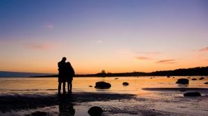 Kettesben a vízparton... hát nem romantikus?