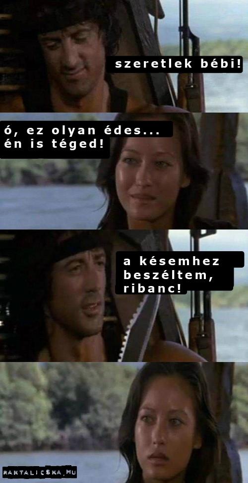 Rambo szerelmes