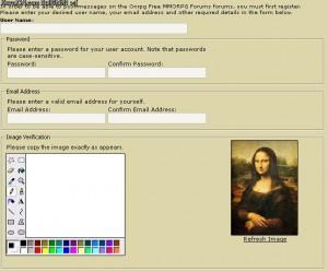 Hatékony CAPTCHA :)